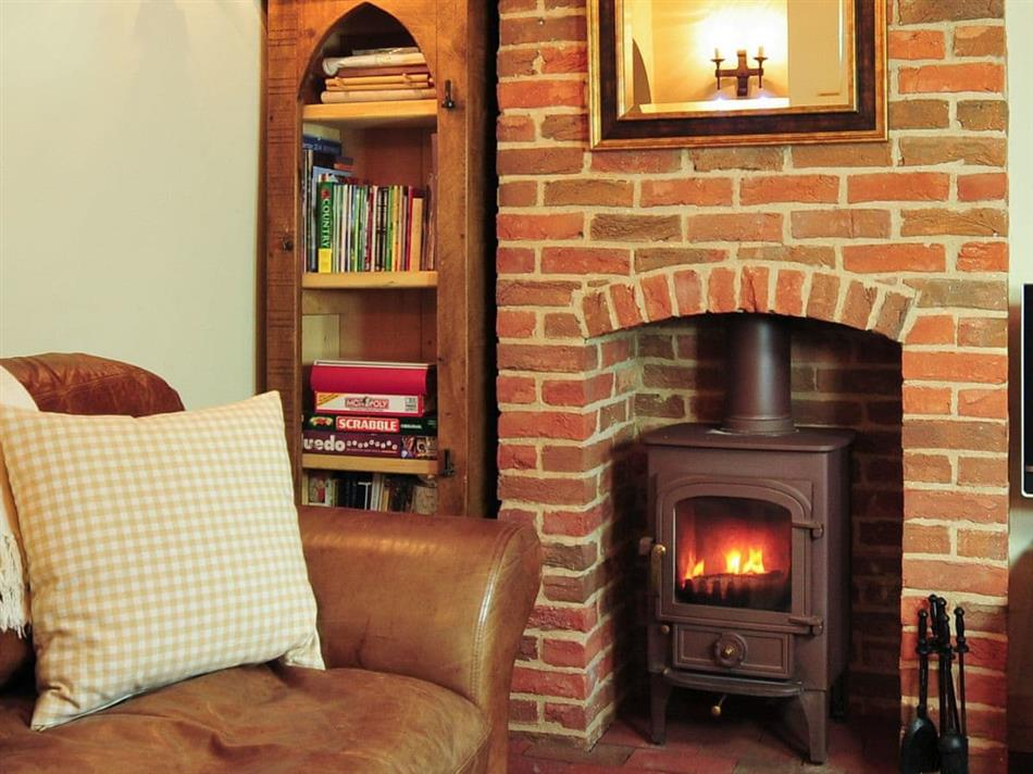 Living room in The Bothy,