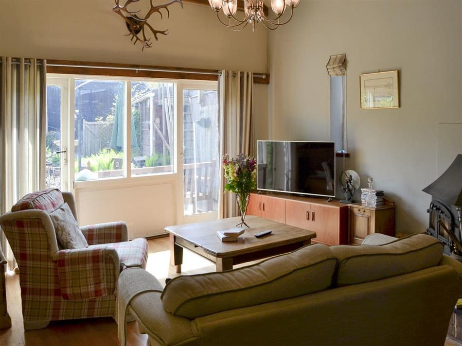 Living room in The Coach House, Happisburgh