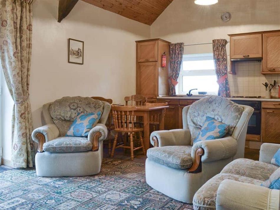 Living room in The Cottage Gallt y Balch, Bodorgan