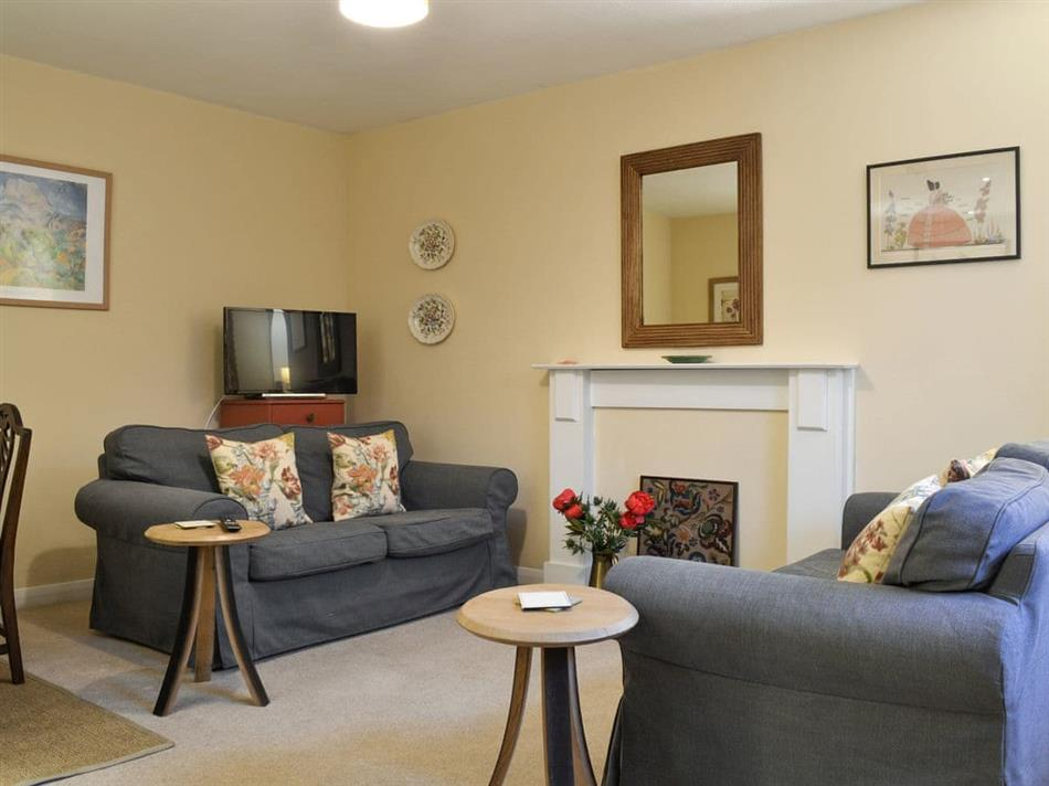 Living room in The Fiddichside Inn, Craigellachie, near Aberlour