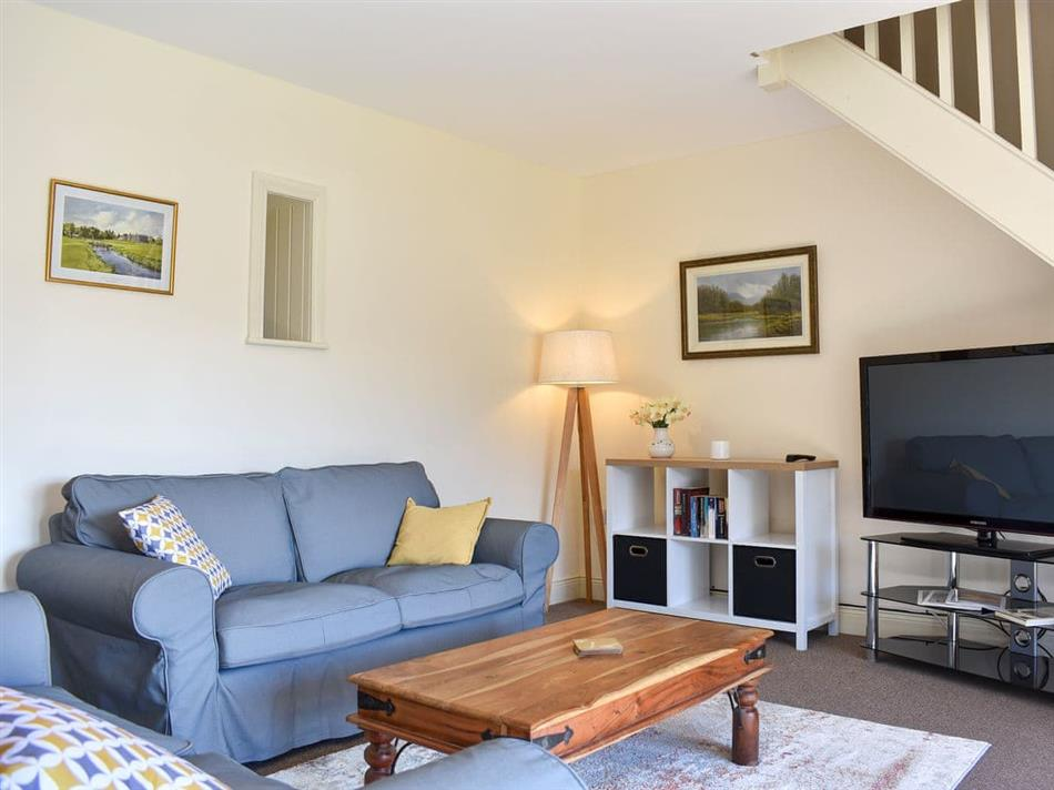 Living room in The Hayloft, Colwell, near Hexham