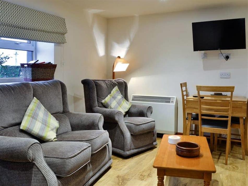 Living room in The Hayloft, Stranraer
