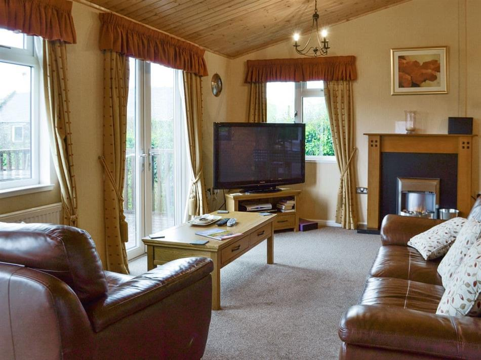 Living room in The Lodge, Colmonell, near Girvan