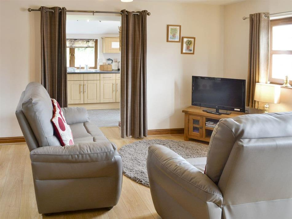 Living room in The Stables, Abererch, Pwllheli