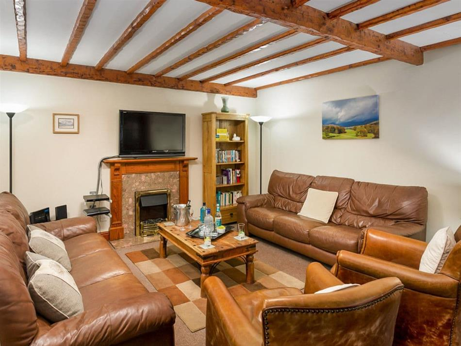 Living room in Thomas Fold Cottage,
