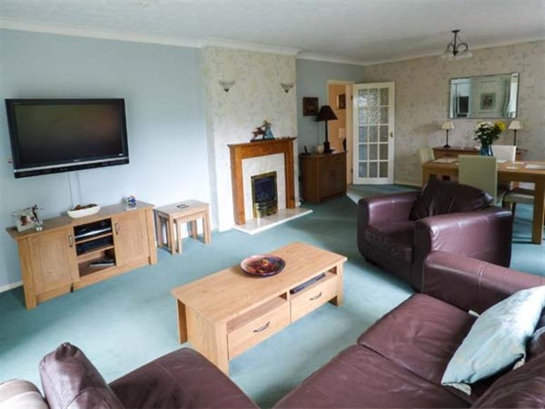 Living room in Treetops, Rhos-on-Sea