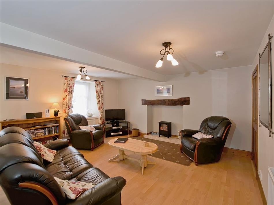 Living room in Tystie Cottage, Sandhead, near Stranraer