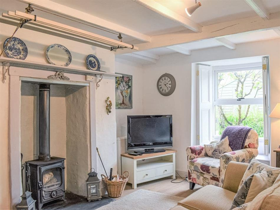 Living room in Vanilla Cottage, Chasewater