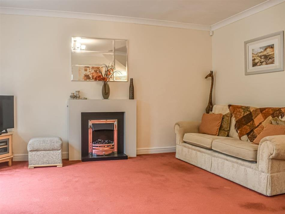 Living room in Victoria Park House, Ulverston