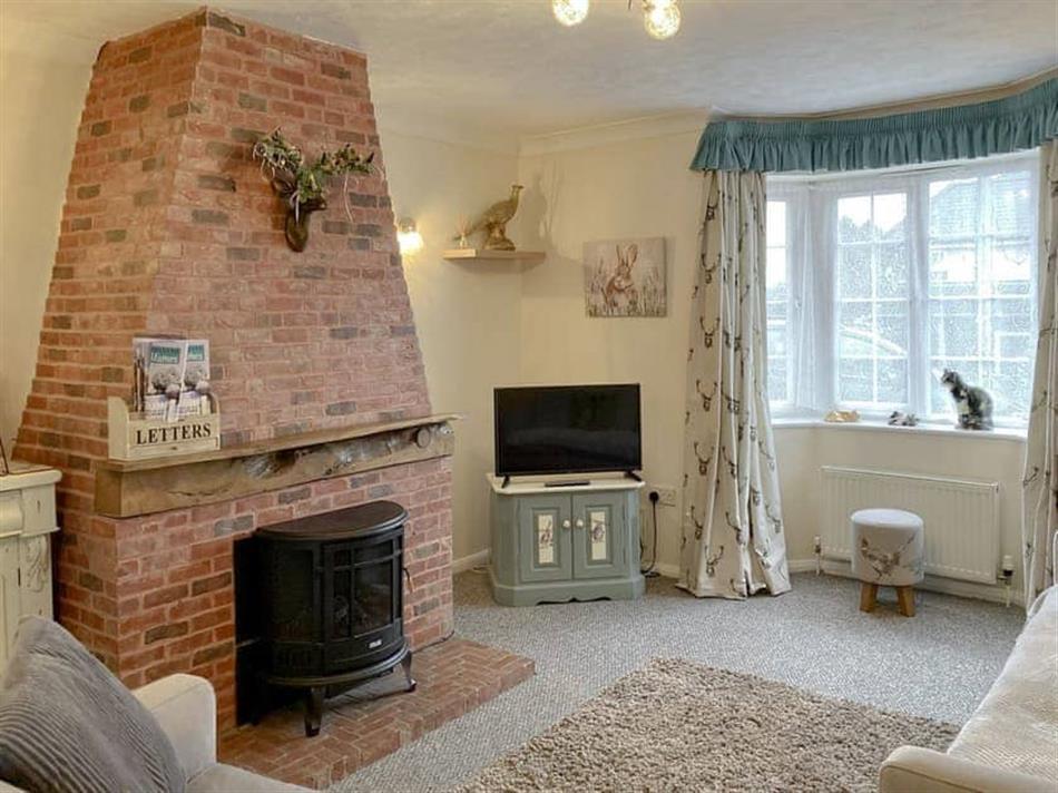 Living room in Walnut Cottage, Long Melford, near Sudbury