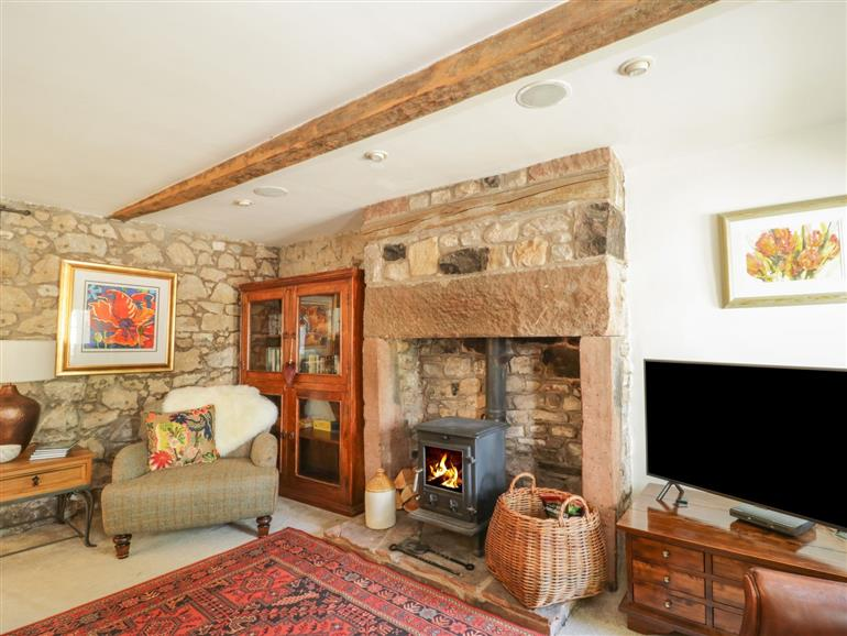 This is the living room at Ivy Cottage in Torpenhow