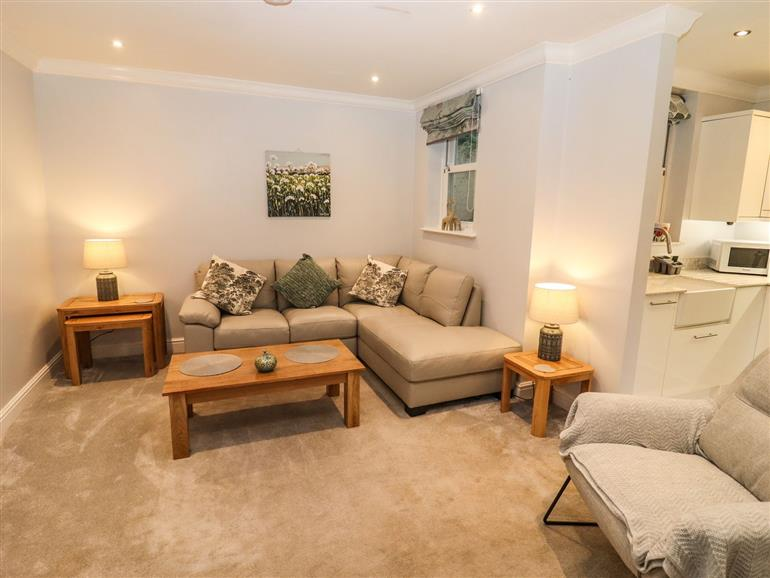 This is the living room at Jasmine Cottage in Mickleton
