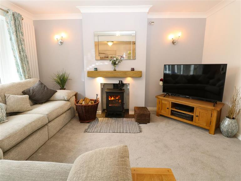 This is the living room at Lark Rise in Salhouse near Wroxham