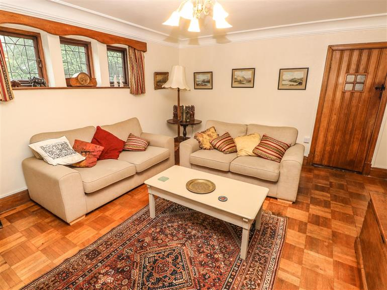This is the living room at Longsdon in Haverfordwest
