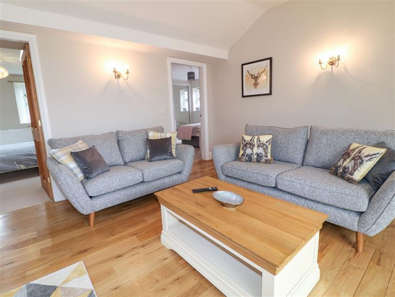 The living room at Millcott near Metheringham