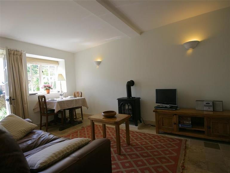 This is the living room at Noel Cottage in Chipping Campden