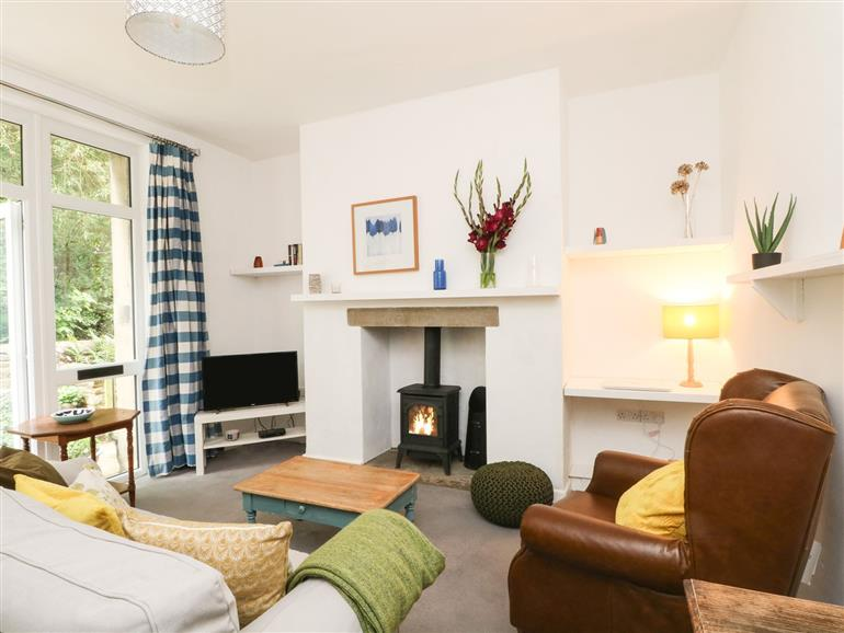 This is the living room at Number 19 in Skipton