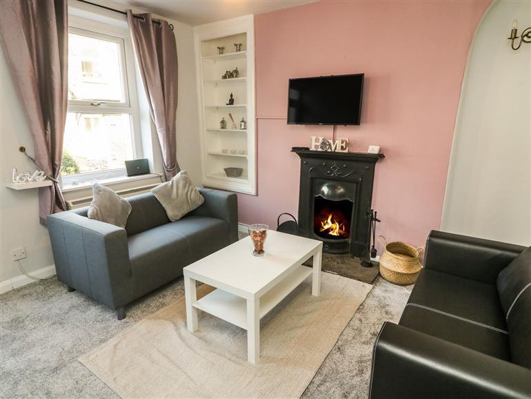 The living room at Parkholme in Tebay