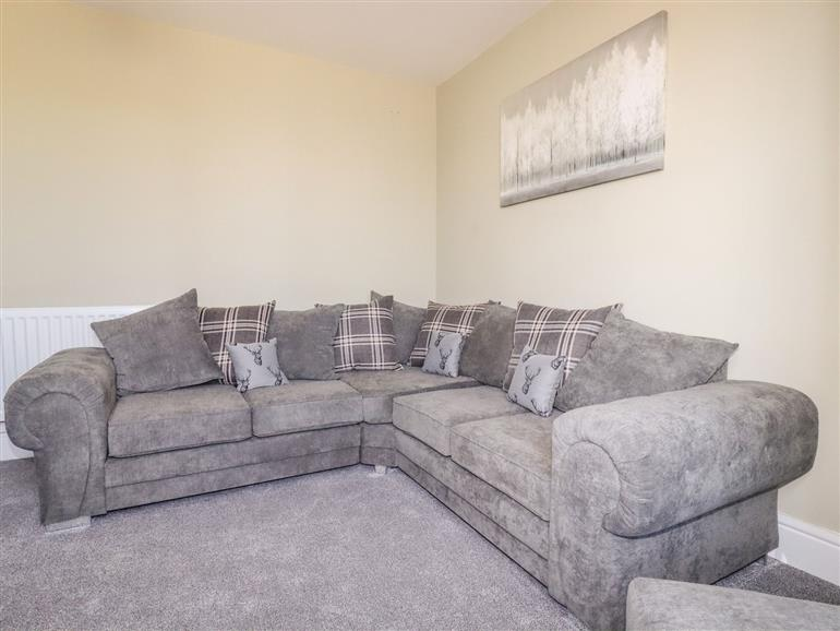 The living room at Pendeen in Par