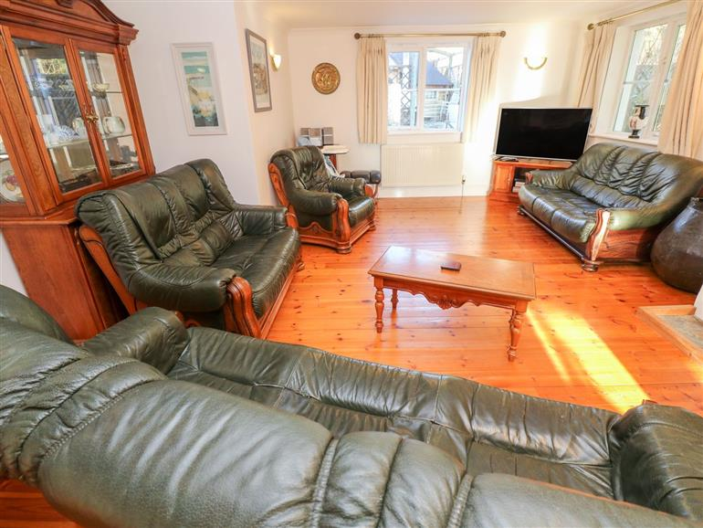 This is the living room at Rockridge House in St Levan near Sennen