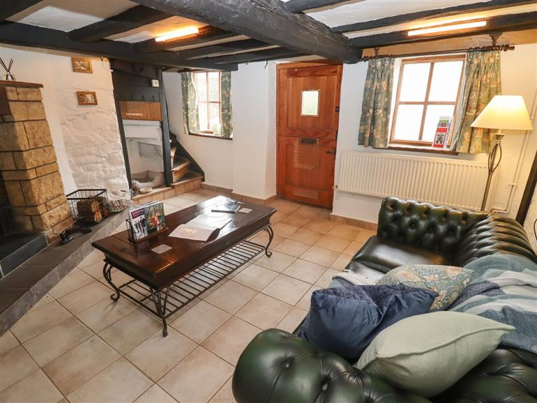 The living room at Runnymede in Tewkesbury