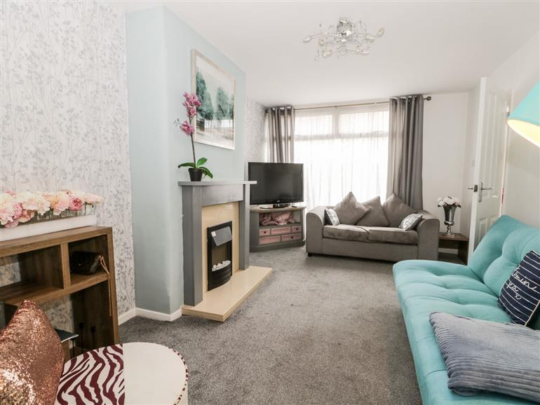 This is the living room at Skandia Mereside in Hornsea