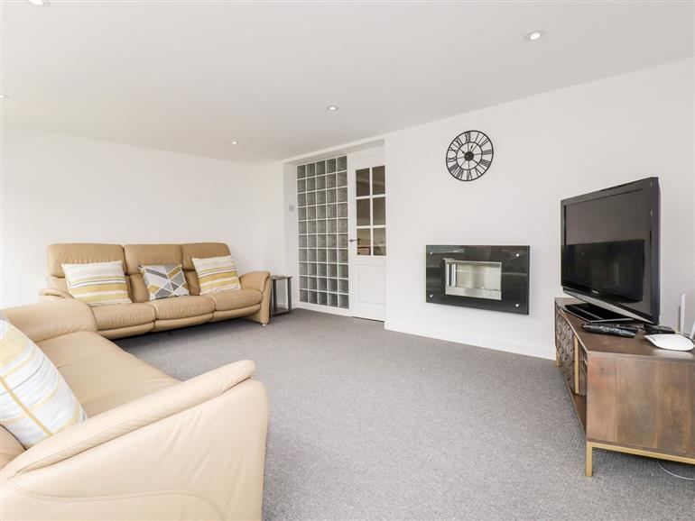 This is the living room at Stable Cottage in Newquay