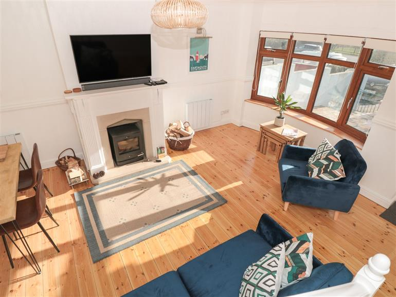 This is the living room at Stoke Lee in Stoke Fleming