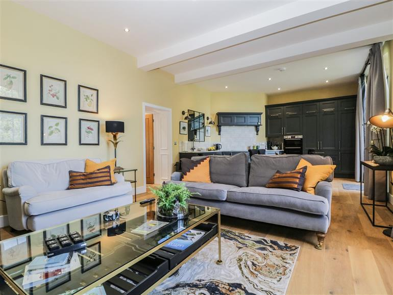 The living room at Tarn End Cottages 5 near Brampton