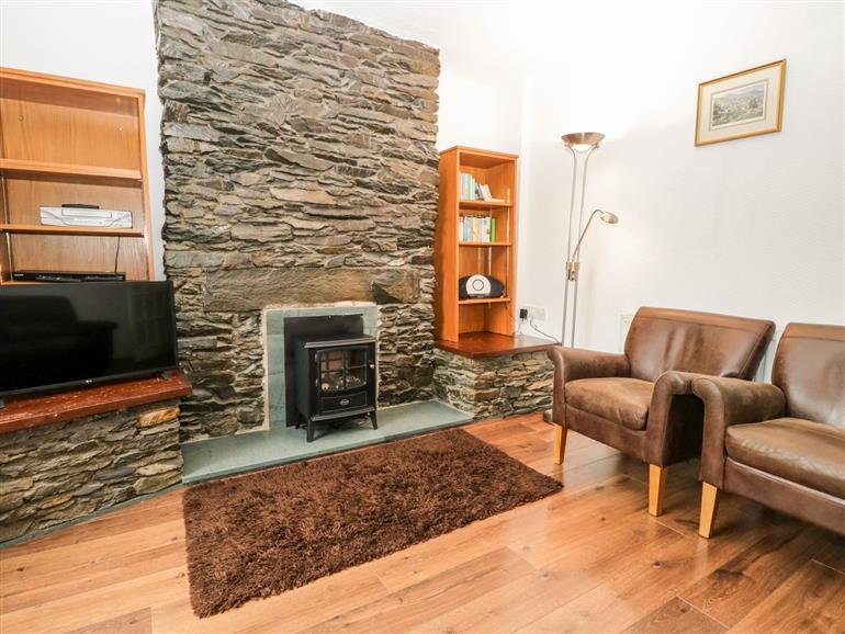 The living room at The Heights in Bowness-On-Windermere