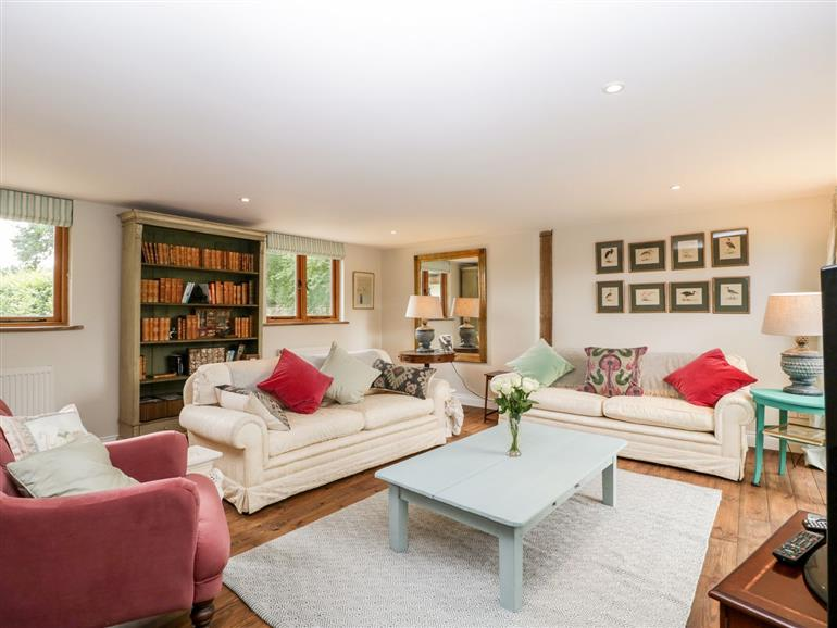 The living room at The Old House Cottage in Sutton Veny near Warminster