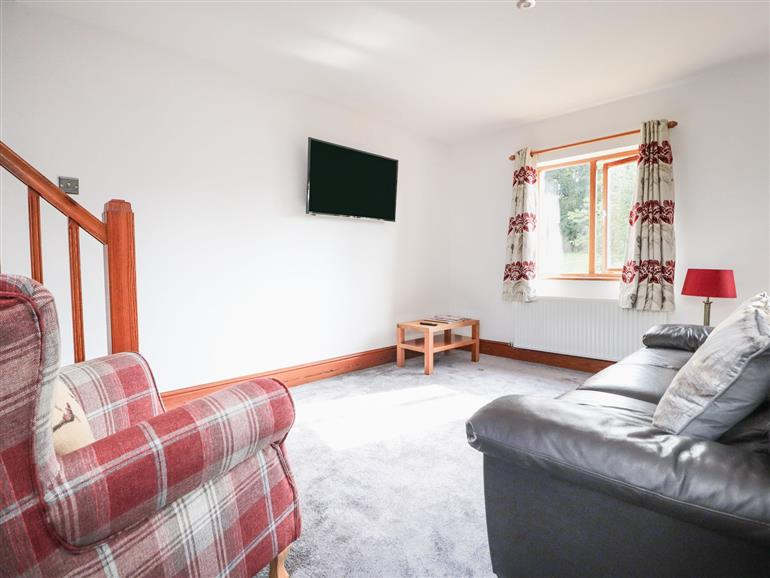 The living room at The Stables in Brookhouse