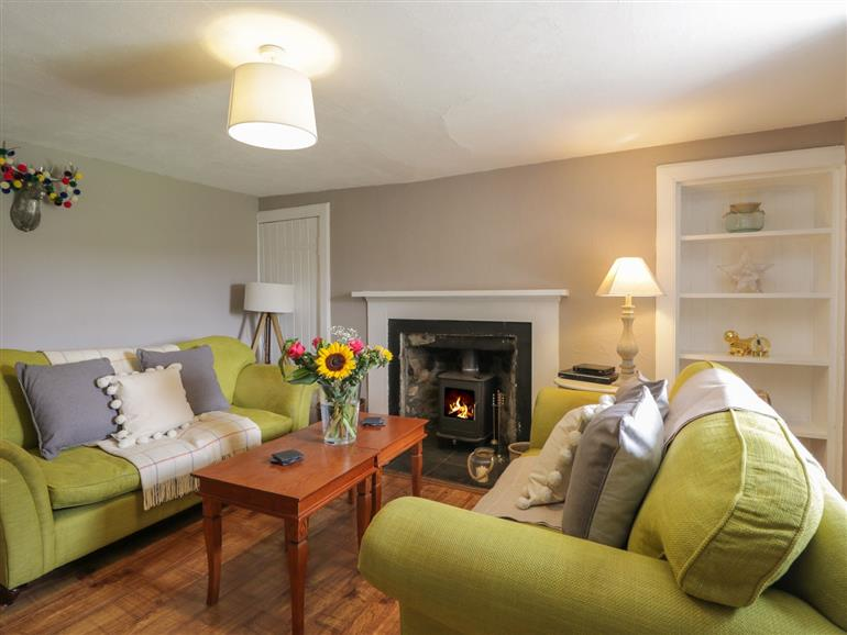 This is the living room at Tomachlaggan Cottage in Kirkmichael near Tomintoul