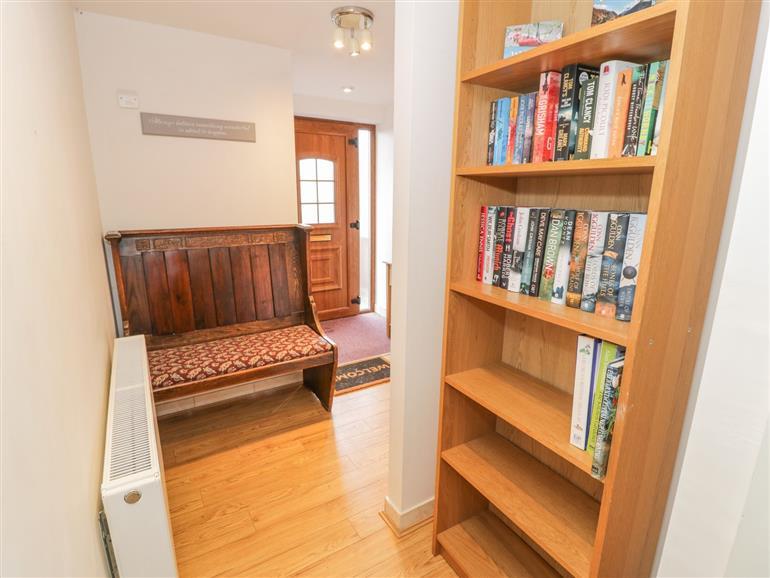 The living room at Trem Y Dyffryn in Llan Ffestiniog