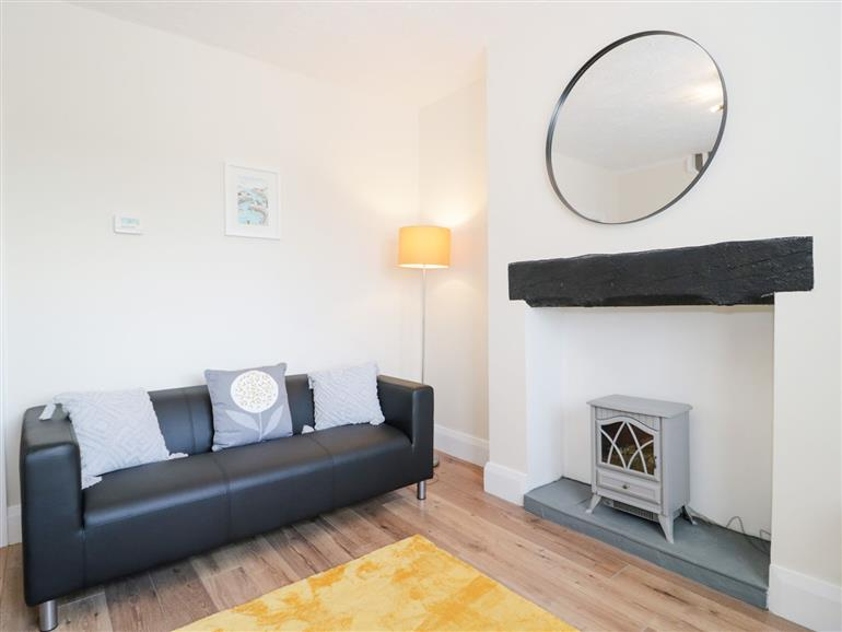 The living room at Two Conway View near Llandudno Junction