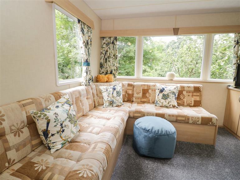 The living room at Vista in Llanallgo near Moelfre