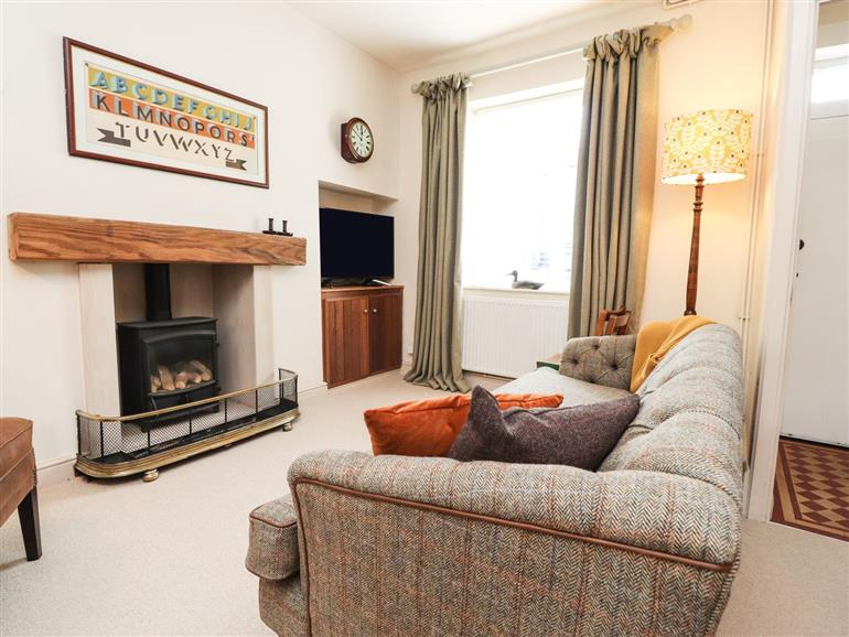 This is the living room at William's Cottage in Waddington